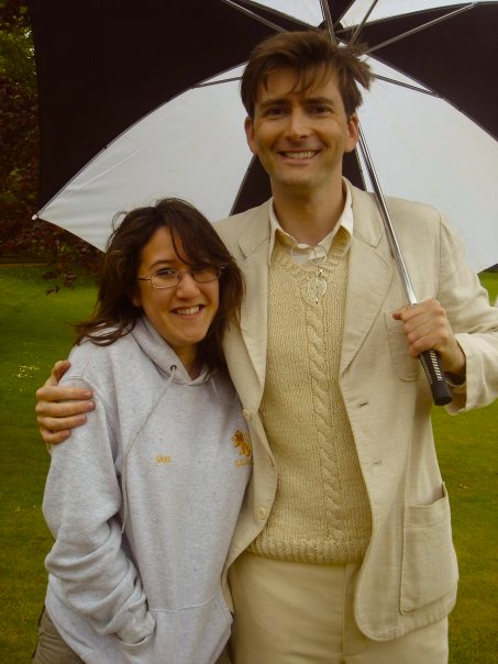 David Tennant and Sara Litchfield