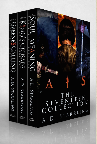 supernatural thriller series Seventeen by AD Starrling
